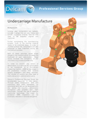 Background: Landing gear components are typically complex forgings tha