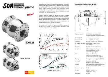 SON  means Schmidts Original Nabendynamo Schmidts original hub dynamo with general approval for wheel sizes up to c PDF document - DocSlides