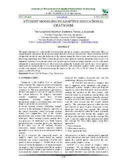 Journal of Theoretical and Applied Information Tech nology  st December PDF document - DocSlides