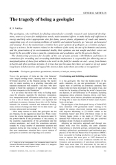 CURRENT SCIENCE, VOL. 102, NO. 4, 25 FEBRUARY 2012