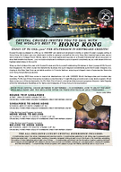 CRYSTAL CRUISES INVITES YOU TO SAIL WITH THE WORLDS BEST TO Crystal Cruises is pleased to offer up to US per stateroom shipboard credits on select Crystal voyages calling in Hong Kong