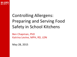 Controlling Allergens: