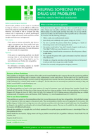 HELPING SOMEONE WITH DRUG USE PROBLEMS MENTAL HEALTH FIRST AID GUIDELINES What are drug use problems Drug use problems refers to using drugs e PDF document - DocSlides