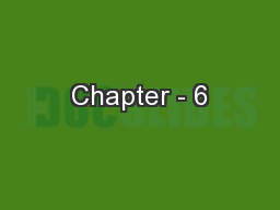 Chapter - 6