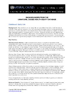 Copyright 2008 California Newsreel page 1 of 20 www.unnaturalcauses.or