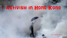 Activism in Hong Kong