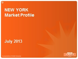 NEW YORK PowerPoint PPT Presentation