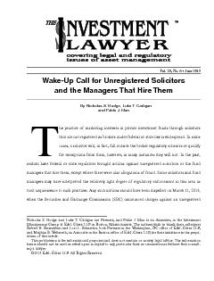 Wake-Up Call for Unregistered Solicitors and the Managers That Hire Th
