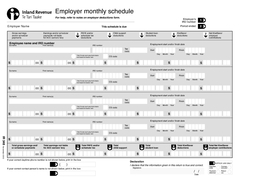 PSORHUV QXPEHU HULRGHQGHG PSORHUPRQWKOVFKHGXOH For help refer to notes on employer deductions form