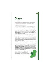 Jutting proudly into the Atlantic Ocean, Mayo boasts a stunningly beau