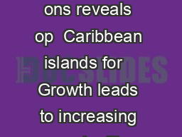 FOR IMMEDIATE RELEASE Delta Vacat ons reveals op  Caribbean islands for   Growth leads to increasing opportunities for travel agents ATLANTA Jan