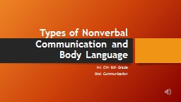 Types of PowerPoint PPT Presentation