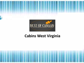 Cabins West Virginia