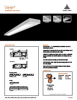 FLUORESCENT WALL MOUNTPRODUCT OVERVIEW FEATURESDIMENSIONAL DATAWattage