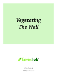 Vegetating The Wall