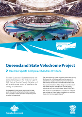 Queensland State Velodrome ProjectThe new Queensland State Velodrome w PowerPoint PPT Presentation