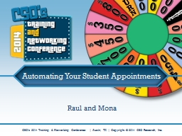 Automating Your Student Appointments