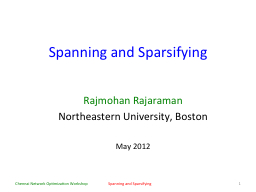 Spanning and PowerPoint PPT Presentation
