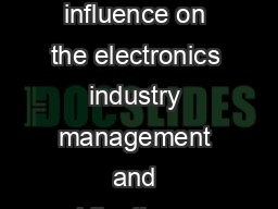 Dave Packard Biography Da ve Packards influence on the electronics industry management and philanthropy was no thing short of extraordinary PDF document - DocSlides
