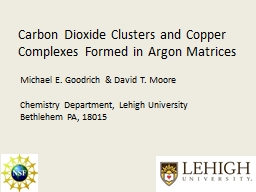 Carbon Dioxide Clusters and Copper Complexes Formed in Argo