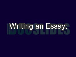 trouble writing college essay