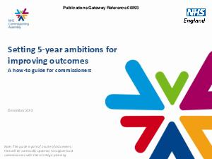 Setting  year ambitions for improving outcomes the commissioners how to guide Fr