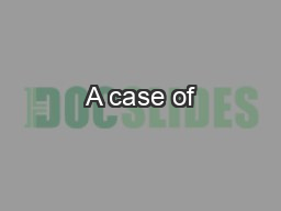 A case of
