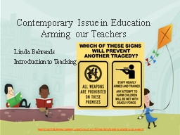 Contemporary Issue in Education