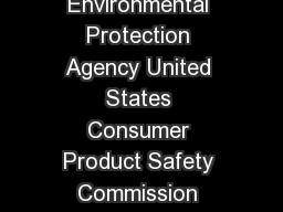 Protect Your Family From Lead in Your Home United States Environmental Protection Agency United States Consumer Product Safety Commission United States Department of Housing and Urban Development Sep PowerPoint PPT Presentation