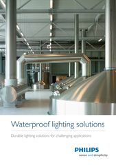 Waterproof lighting solutionsDurable lighting solutions for challengin