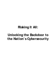 Unlocking the Backdoor to