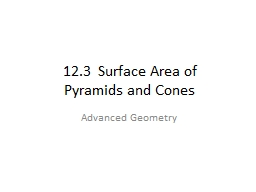 12.3  Surface Area of