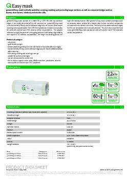 Easy mask greenteQ Easy mask is ideally suited for covering, masking a PowerPoint PPT Presentation