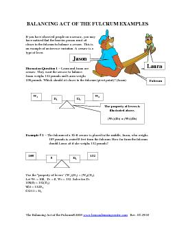 The Balancing Act of the Fulcrum PowerPoint PPT Presentation