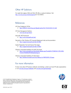 HP SoftPaq Download Manager and HP System Software Manager A Powerful Combination Technical hite paper Table of contents Executive summary