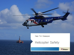 Helicopter Safety PowerPoint PPT Presentation