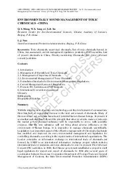 UNESCO  EOLSS SAMPLE CHAPTERS AREA STUDIES  CHINA REGIONAL SUSTAINABLE DEVELOPMENT REVIEW  Vol
