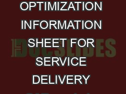 CONTINUOUS QUALITY CHECK SAP BUSINESS PROCESS PERFORMANCE OPTIMIZATION INFORMATION SHEET FOR SERVICE DELIVERY SAP wants to make sure you are getting the most out of your SAP solution PDF document - DocSlides