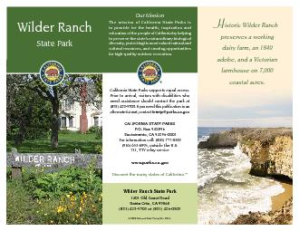 California State Parks supports equal access. Prior to arrival, visito