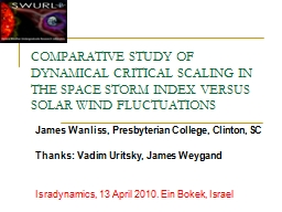 COMPARATIVE STUDY OF DYNAMICAL CRITICAL SCALING IN THE SPAC