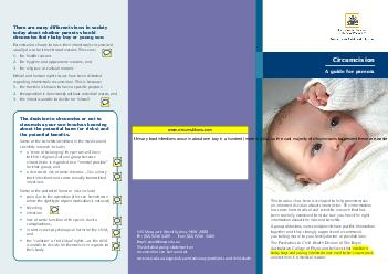 There are many different views in society today about whether parents should circumcise their baby boy or young son PDF document - DocSlides