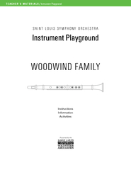 TEACHER'S MATERIALS/Instrument PlaygroundSAINTLOUISSYMPHONYORCHES