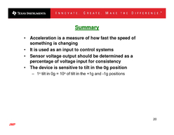 JMP Accelerometers and Accelerometers and How they Work How they Work Contents summary  JMP Acceleration Fundamentals Acceleration Fundamentals What is Acceleration What are the units What is a g  JM PDF document - DocSlides