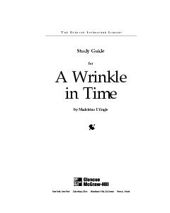 A Wrinkle in Timeby Madeleine L PowerPoint PPT Presentation