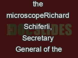 Yachts under the microscopeRichard Schiferli, Secretary General of the