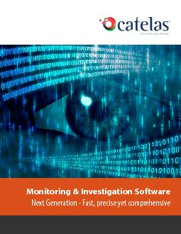 Monitoring & Investigation Software Next Generation - Fast, precise ye