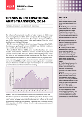 KEY FACTS The volume of transfers of major weapons in 2010