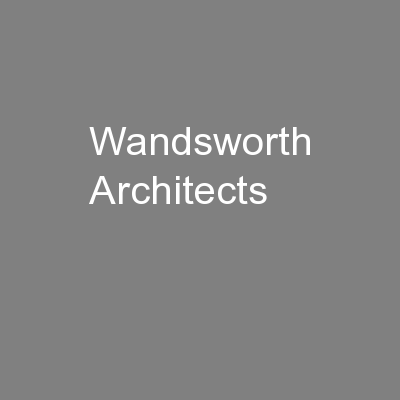 Wandsworth Architects