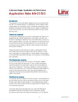 This application note is intended for designers who are incorporating RF into Part compliant designs