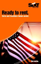 Sixt rent a car - Rental Agreement, Terms & Conditions1. Denitions.&#